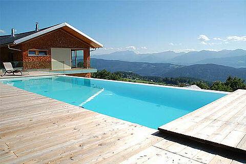 Yoga Retreat Pool